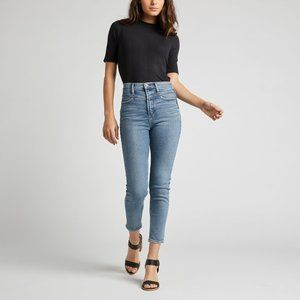 Silver Jeans Ode To 80s High Rise Skinny Size